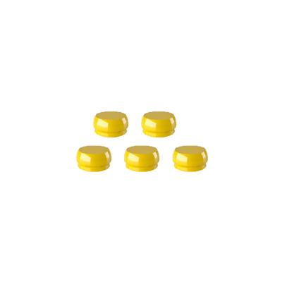 Meg-Rhein Retentive Caps - Yellow (5 Pack)